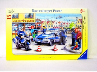 Rendőrség ramapuzzle 15 db-os