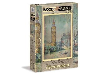 London 500 db-os fa puzzle