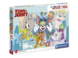 104 db-os Super color puzzle - Tom és Jerry