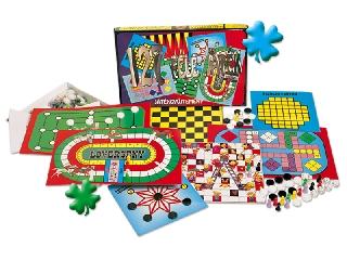 127-es társasjáték gyűjtemény