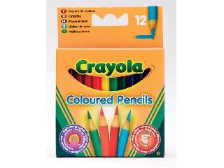 Félhosszú színes ceruza, 12 db