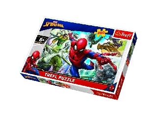 Trefl: Marvel Pókember született hősök puzzle - 200 darabos