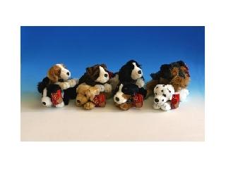 25 cm Fevő kutyusok