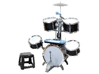 2IN1 fekete Jazz dob és szintetizátor