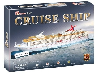 3D Cruise Hajó 86 db-os puzzle