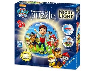 3D Lámpás puzzleball - Mancsőrjárat 72 db-os