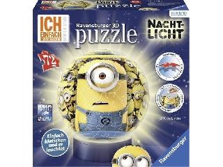 3D Lámpás puzzleball - Minyonok