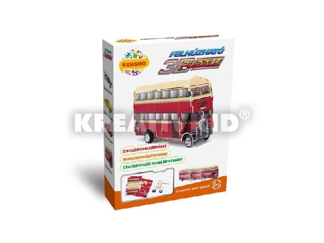3D Puzzle - Emeletes busz