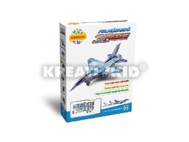 3D Puzzle - F-16 vadászgép