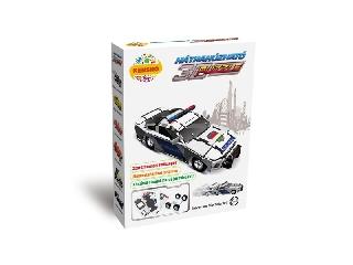 3D Puzzle - Rendőrautó