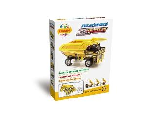 3D Puzzle - Sárga dömper