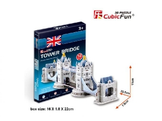3D puzzle - Tower Bridge 32 db-os