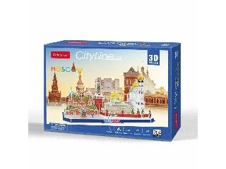 3D puzzle City Line Moszkva