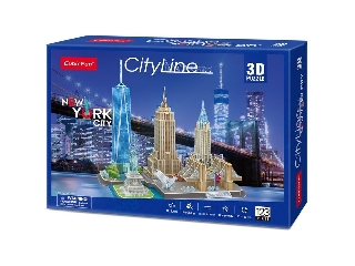 3D puzzle City Line New York