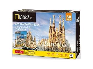 3D puzzle City Traveller - Barcelona
