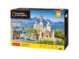 3D puzzle City Travello - Neuschwanstein