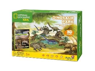 3D puzzle Dinópark