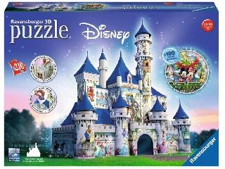 3D Puzzle Disney kastélya 216 db-os kirakó
