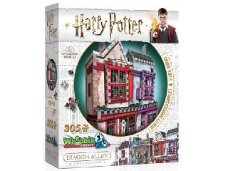 3D puzzle Harry Potter Kviddics bolt az Abszol Úton 305 db-os