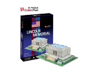 3D puzzle - Lincoln Memorial 41 db-os