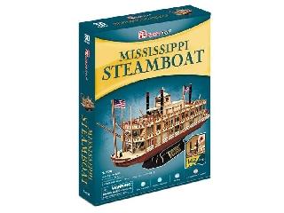 3D puzzle Mississippi Steamboat - gőzőshajó