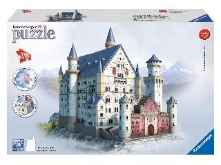 3D Puzzle Neuschwanstein-i kastély