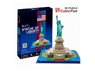 3D puzzle - Statue of Liberty 39 db-os