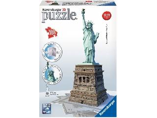 3D Puzzle Szabadság szobor 108 db-os