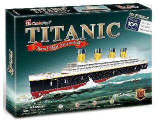 3D puzzle Titanic 35 db-os kirakó
