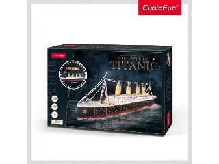 3D puzzle Titanic led-es exkluzív kiadás