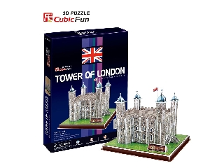 3D puzzle - Tower of London (40 db-os)