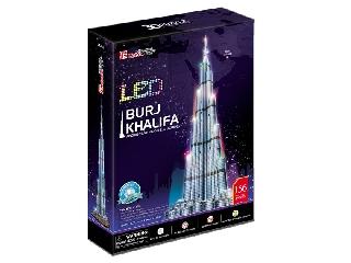 3D puzzle világító Burj Khalifa