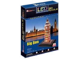 3D puzzle világítós Big Ben