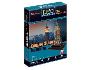3D puzzle világítós Empire State Building