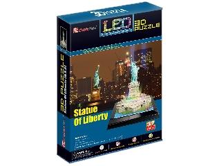 3D puzzle világítós Szabadság szobor