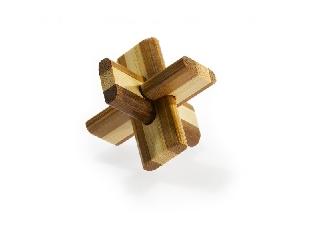 3D Bambusz puzzle - Doublecross **