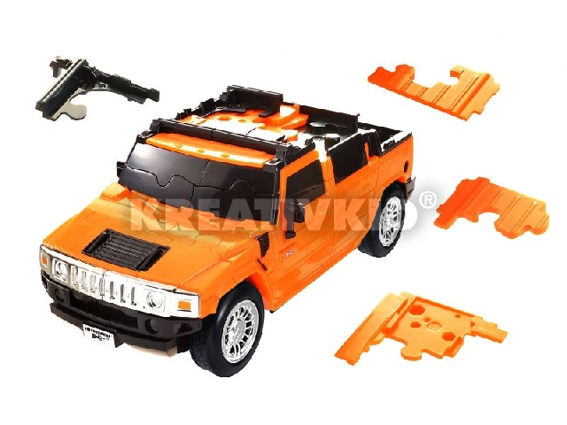 3D Puzzle - Hummer H2 - Narancs ***