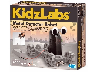 4M fémkereső robot készlet