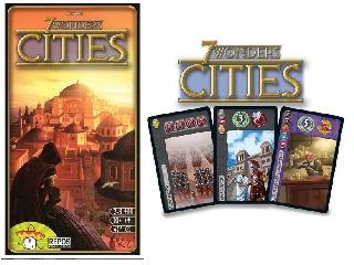 7 Wonders társasjáték - Cities kiegészítő