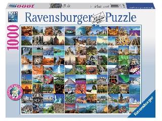 99 csodaszép hely - 1000 db-os puzzle