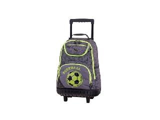 Pulse gurulós iskolatáska - Wheels Green Football
