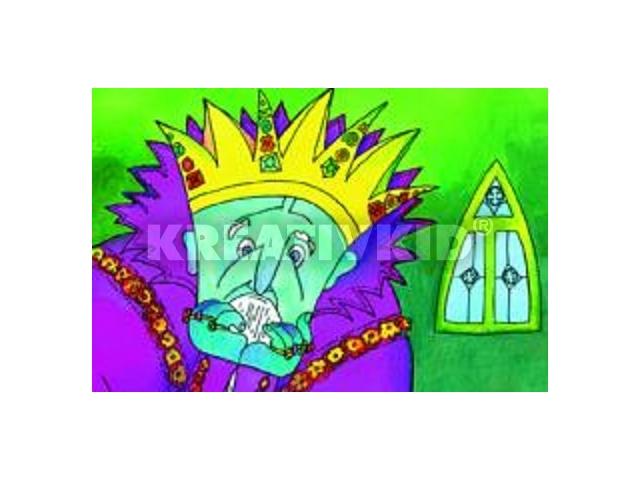 A didergő király diafilm