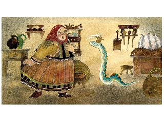 A kígyóbőr diafilm
