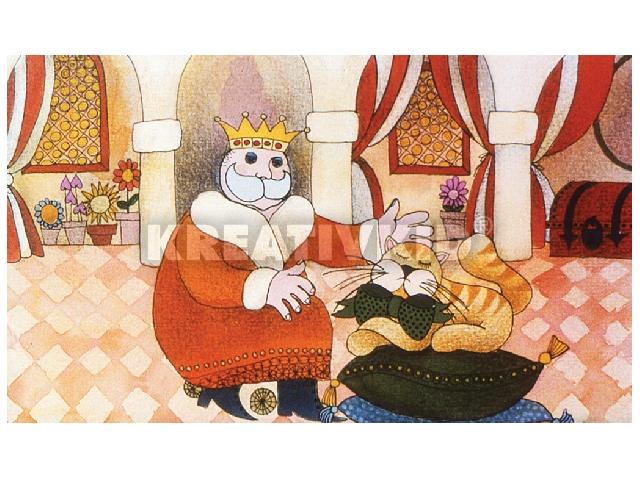 A király macskája diafilm