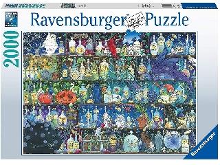 A méregkeverő szekrénye puzzle 2000 db-os