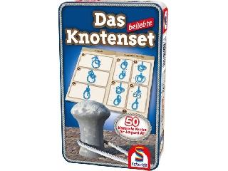 Das beliebte Knotenset-A népszerû csomó készlet fémdobozban