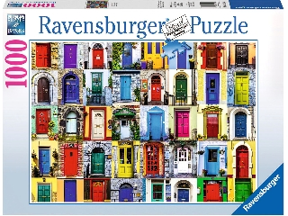 A világ ajtói 1000 darabos puzzle