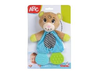 ABC plüss állat fogzás segítővel macis