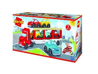 Abrick autószállító kamion