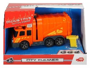 Action Series Mini City Cleaner 15 cm - Kukásautó
